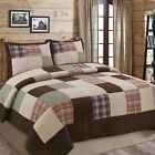 Jakob Plaid Real Patchwork 100%Cotton Quilt Set, Bedspread, Coverlet image