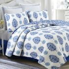 Hittle 100%Cotton 3-Piece Reversible Quilt Set, Bedspread, Coverlet image