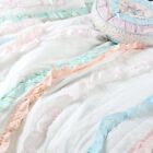Devers Ruffle Lace Cotton 100%Cotton Quilt Set, Bedspread, Coverlet image