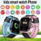 Waterproof Anti-lost Safe GPS Tracker SOS Call Kids Smart Watch For Android iOS image
