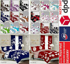 100% Cotton&Poly Complete 4pcs Set Duvet Cover with Fitted sheet and Pillow case