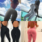 Women Fitness YOGA Leggings Jumpsuit Romper Sports Gym Pants Athletic Clothes US