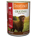 Instinct Grain-Free Beef Canned Wet Dog Food by Nature's Variety