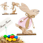 Bunny Wooden Decoration Easter Rabbit Home Accessories Mini Gift Ornaments