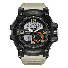 SMAEL Men's Sport Heavy Duty Military Watch Dual Display LED Waterproof Watch US image