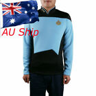 Cosplay Star Trek TNG  Blue Uniform Star Trek Starfleet Command Uniform Pin on eBay
