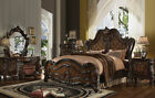NEW CRILLON 6 piece Traditional Brown Bedroom Suite Furniture Queen King Bed Set