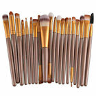 20Pcs Pro Makeup Brushes Set Foundation Powder Blush Eyeshadow Eyebrow Lip Brush