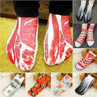 3D  Funny Animal Fruit Print Unisex Cotton Ankle Socks Casual Boat Socks New