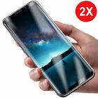 2x Panzer Folie 3D Samsung Galaxy S9 / S9 Plus Display Schutz Folie Cover KLAR <br/> ++ NANO EDGE ++ ANTI-SHOCK TPU FOLIE ++ VIDE0 ++