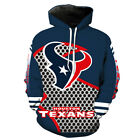 Houston Texans Hoodie Small-XXXL 2XL Unisex Men Women Football Sweatshirt Texas