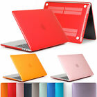 Matte Shockproof Case With Keyboard Cover For MacBook Air Pro Retina 11 12 13 15