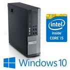Dell Optiplex 9020 Sff Computer Desktop Intel I5 4570 4g/8g/16g Win 10 Pro