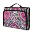 Jewelry Hanging Travel Organizer Jewelry Roll Up Bag Case Storage Holder Zippers