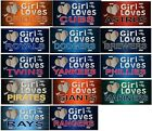 THIS GIRL LOVES Her Baseball Team License Plate, Aluminum Metal Signs, NEW on Ebay