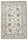 High Quality Traditional Binche Allover Design Floor Rugs and Runners Ivory