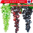 Artificial Green Grapes Grape Fake Fruit Home Party Wedding Shop Decoration G