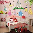 Girls Stickers Wall For Kids Living Room Height Measure Decoration Accessories