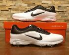 NIKE Air Zoom Rival 5 White And Black Golf Shoes 878957 100