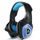 Hunterspider V1 Stereo Bass Surround Gaming Headset for PS4 New Xbox One PC Mic