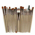 Pro 20Pcs Makeup Brushes Set Cosmetic Power Eye Shadow Foundation Blush Tool NEW