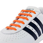 Football Boots Laces Silicone No Tie Shoelaces Flat Shoelaces for Trainers Shoes