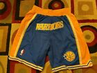 Golden State Warriors RUN TMC Throwback Just Don Mens Basketball Shorts