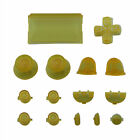 15Pcs Replacement Parts Solid Color Buttons Kit for PS4 Controller Gamepad Beamy