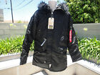 Alpha Industries TYPE N-3B (N) PARKA, Extreme Cold, Black or Gun Metal, NWT