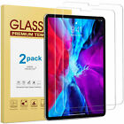 2 Pack Tempered Glass Screen Protector For iPad Pro 12.9 / 11 (2018) iPad Mini 5