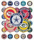 15 Pre-Cut NFL Football Teams 1 Inch Bottle Cap Images (26 Options) $3.1 USD on eBay