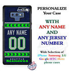 Seattle Seahawks A18 Personalized Football Phone Case Cover Fits Samsung etc. $25.98 USD on eBay