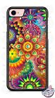 Colorful Abstract Psychedelic Art Phone Case for iPhone Samsung LG Googleetc