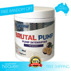 International Protein Brutal Pump Pre Workout 20 Serves Hydration Nitric Oxide