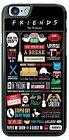 Friends TV show Collage Phone Case Cover fits iPhone Samsung LG HTC etc