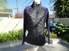 Smartwool 120 CORBET Jacket, Black/Purple Wmns, Embroidered Brand,MSRP $210, NWT