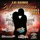 |1190063| Various Artists - Bandas Romanticas De America 2013 [CD x 1] New