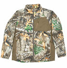 Berne Mens Realtree Edge Fleece Imperial Bull Zip Performance Fleece