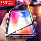 Case for Samsung Galaxy S10 S10e Plus MAGNETIC ADSORPTION METAL GLASS Back Cover
