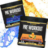 Xcelerate Pre Workout Powder 330g Rage Strong Muscle Pump Insane Energy Drink