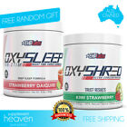 EHPLabs Oxysleep + Oxyshred Pack EHP Labs All Natural Fat Burner Sleep Non-Stim