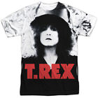 Authentic T. Rex The Slider Album Record Cover Sublimation ALL Front T-shirt top