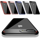 Ultra Slim Soft Hybrid Rubber Clear Back Cover Case For Apple iPhone 8 / 8 Plus