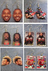 Houston Texans Lamar Miller , Tyrann Mathieu , Jadeveon Clowney EARRINGS on eBay
