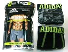"Men's adidas Climacool Micro Mesh 2-Pack (Gray-Black) Boxer Brief 5"" Underwear"