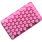55x Silicone Candy Mold Chocolate Ice Small Love Heart Tray Mold DIY Baking Mold