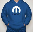 New Blue Colors Mopar Dodge Logo Vinyl Classic Hoodie Mens & Womens $23.98 USD on eBay