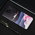 For Samsung Galaxy J4 J6 Plus 2018 Slim Soft Silicone TPU Painted Case Cover
