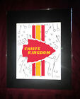 Chief's Kingdom Kansas City Chiefs Football XO Matted Art Poster Print KC Royals on eBay