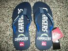 SAN DIEGO CHARGERS Quiksilver New NWT Mens Sandals Flip Flops NFL 9 10 11 $24.95 USD on eBay